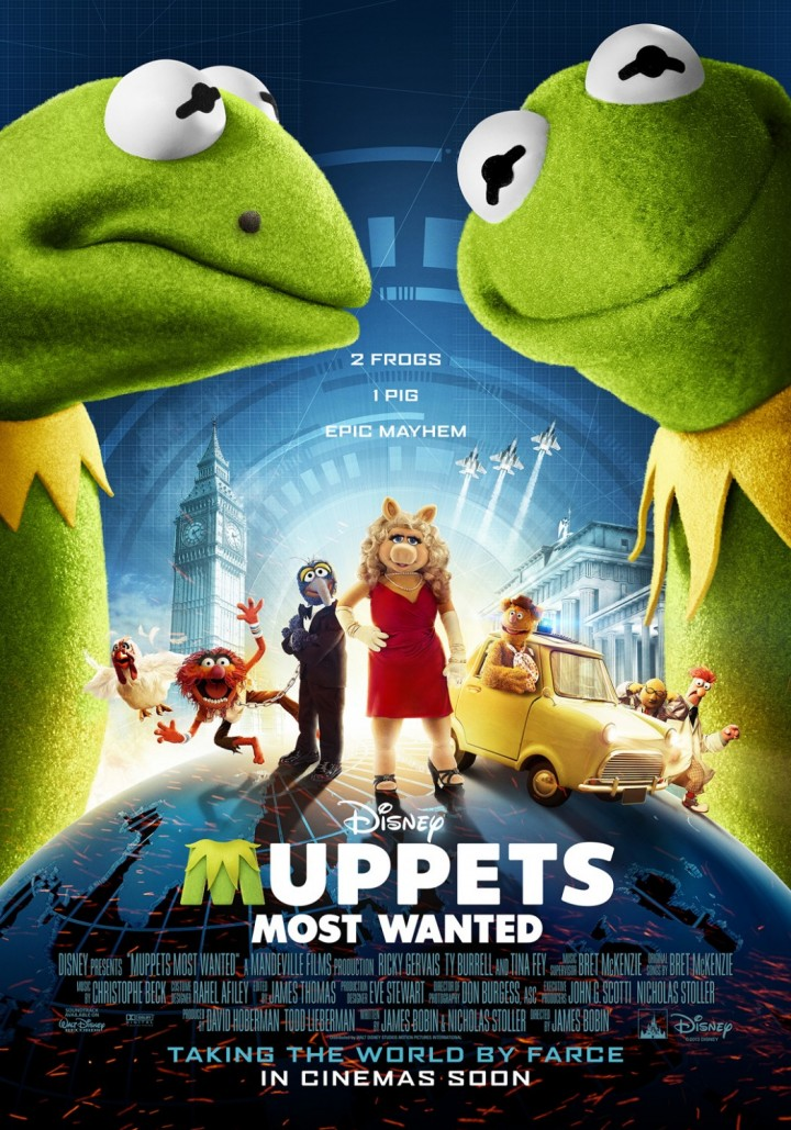 Muppets Most Wanted – Мъпетите 2 2014